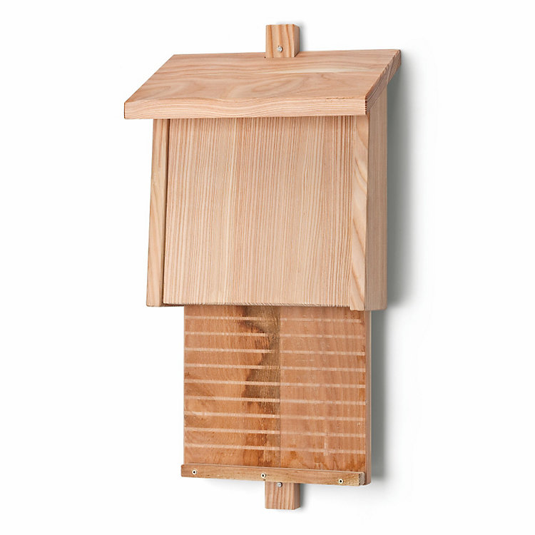 Bat House Made of Larch Wood