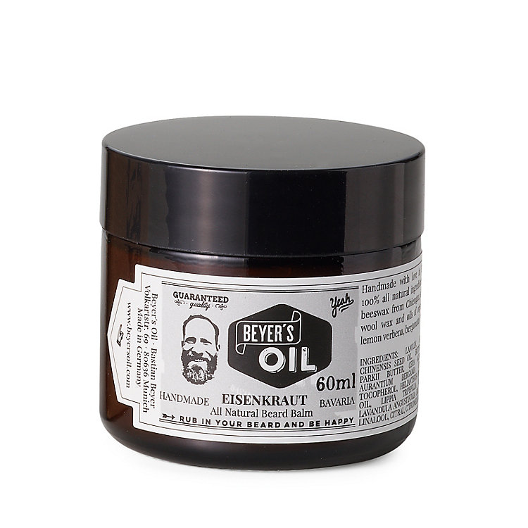 Beard Balm with Vervain by Beyer's Oil