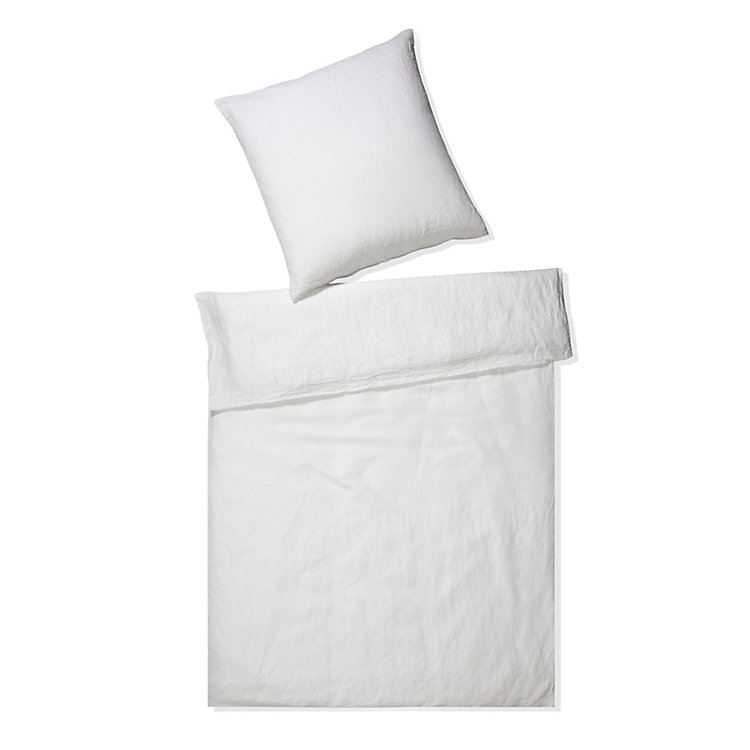 Bed-Set Lin White