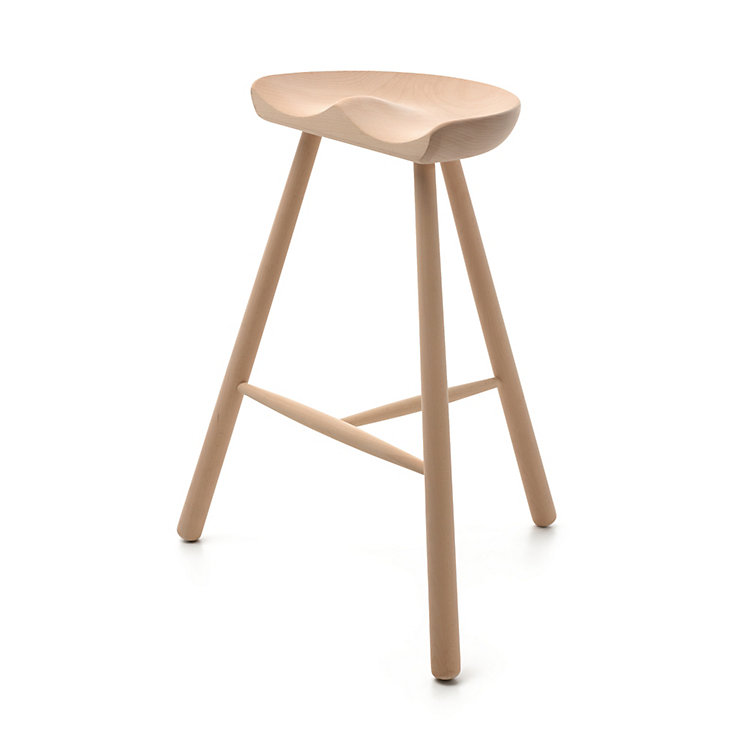 Beechwood Cobbler Stool Large