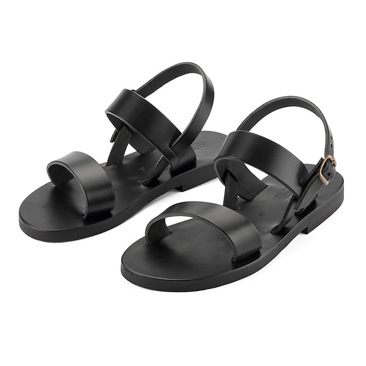 Benedictine Sandals for Men Black