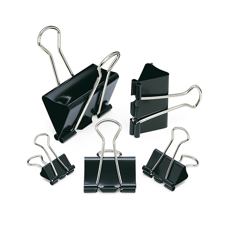 Binder Clips, 16 mm, 12 Pieces
