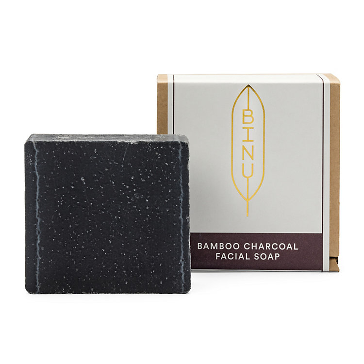 Binu Bamboo Soap with Activated Charcoal