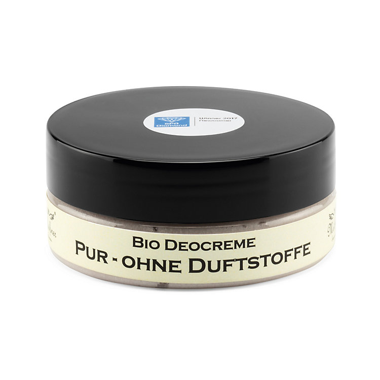 Bio-Deocreme Pur ohne Duftstoffe