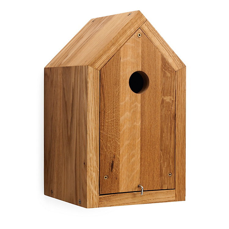 Bird Nesting Box Made of Oak
