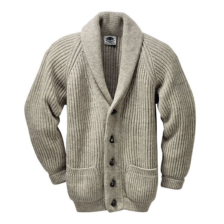 Black Sheep Cardigan, Natur-Hell-Melange