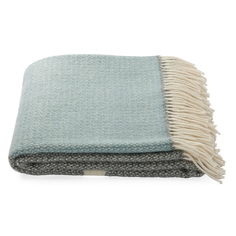Blanket Illusion Light Blue/Grey
