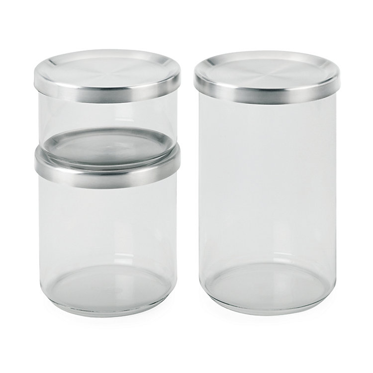 Borosilicate Glass Storage Jar