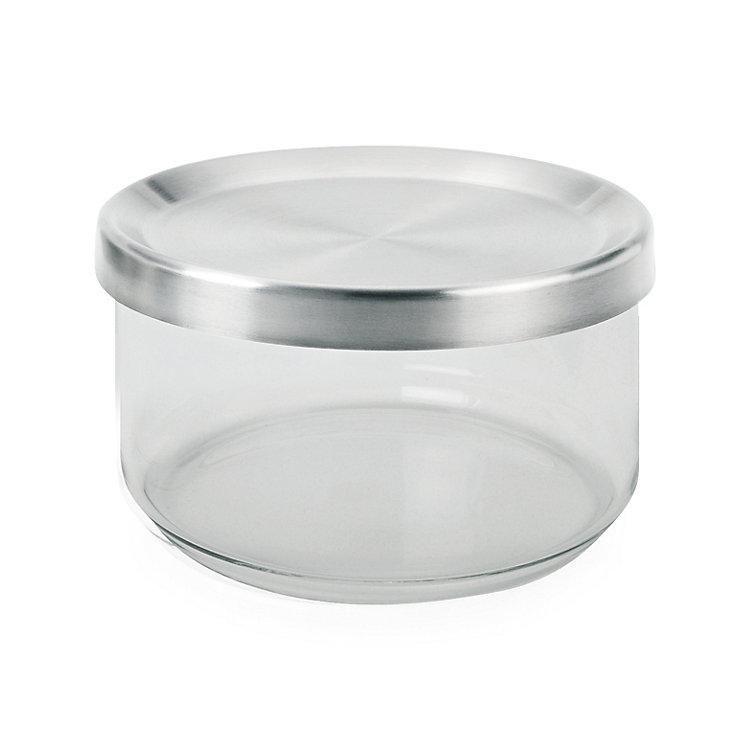 Borosilicate Glass Storage Jar Volume 500 ml