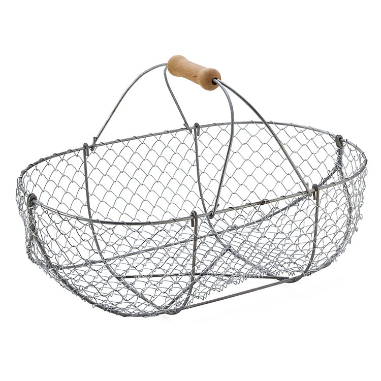 Braided Wire Basket