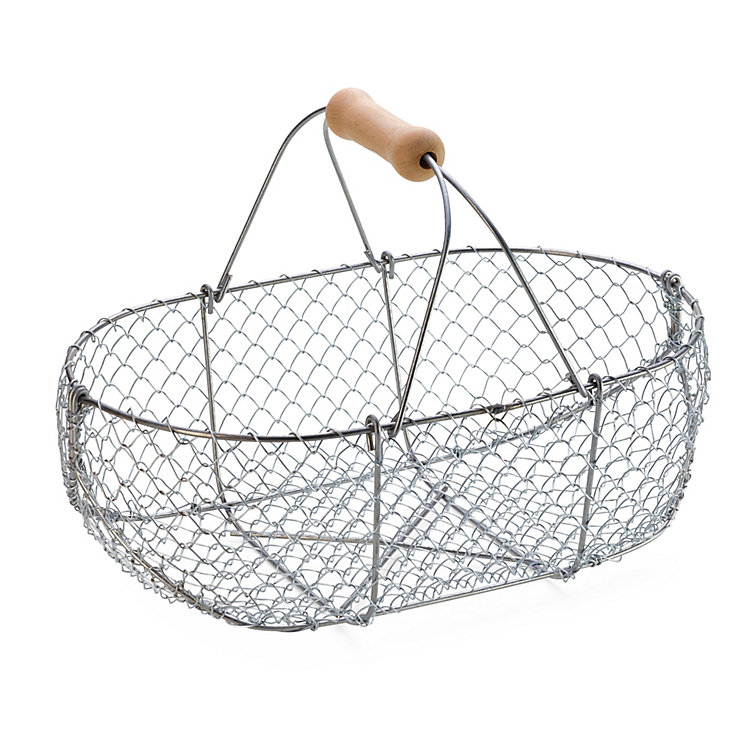 Braided Wire Basket Medium