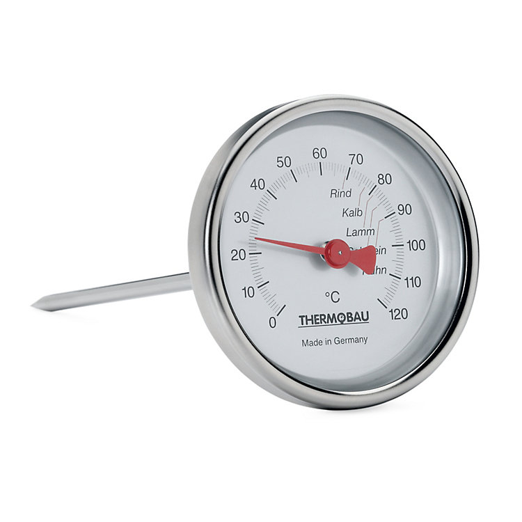 Bratenthermometer Edelstahl