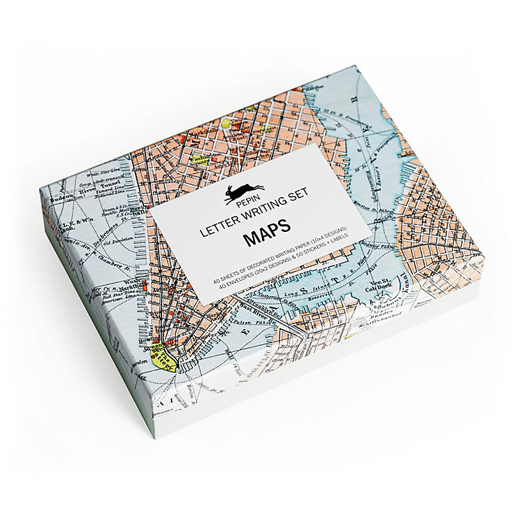 Briefpapierbox Pepin, Maps