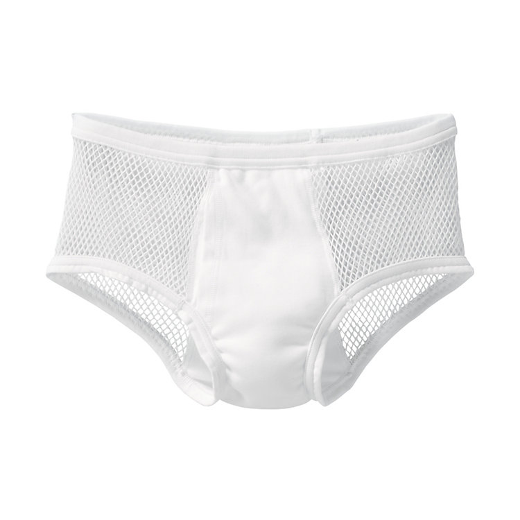Brynje Briefs Made of Mesh White