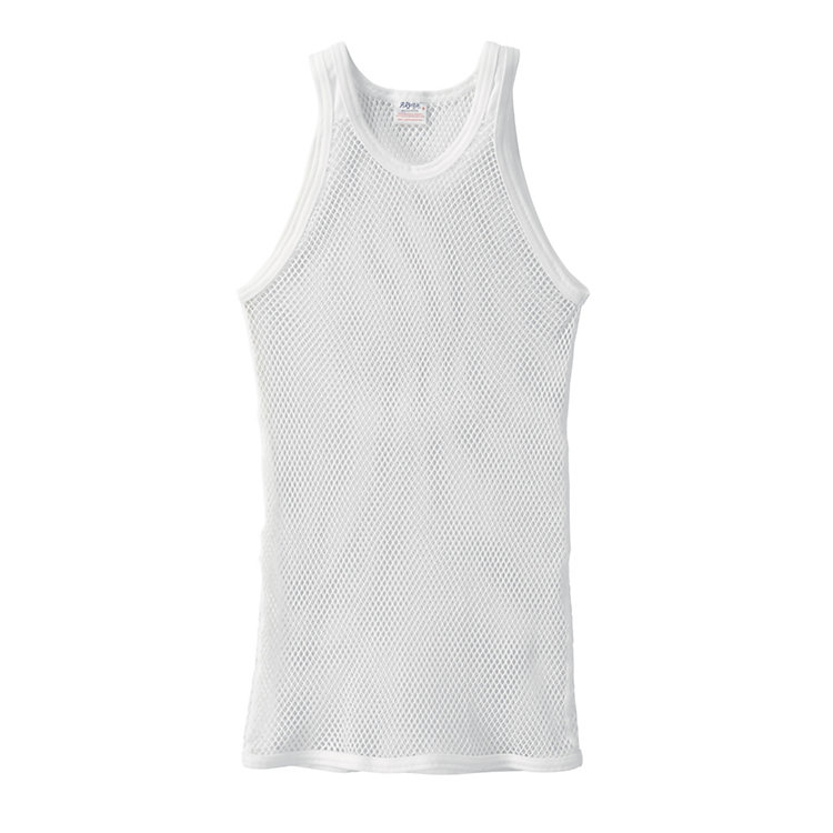 Brynje Sleeveless Shirt Made of Mesh White