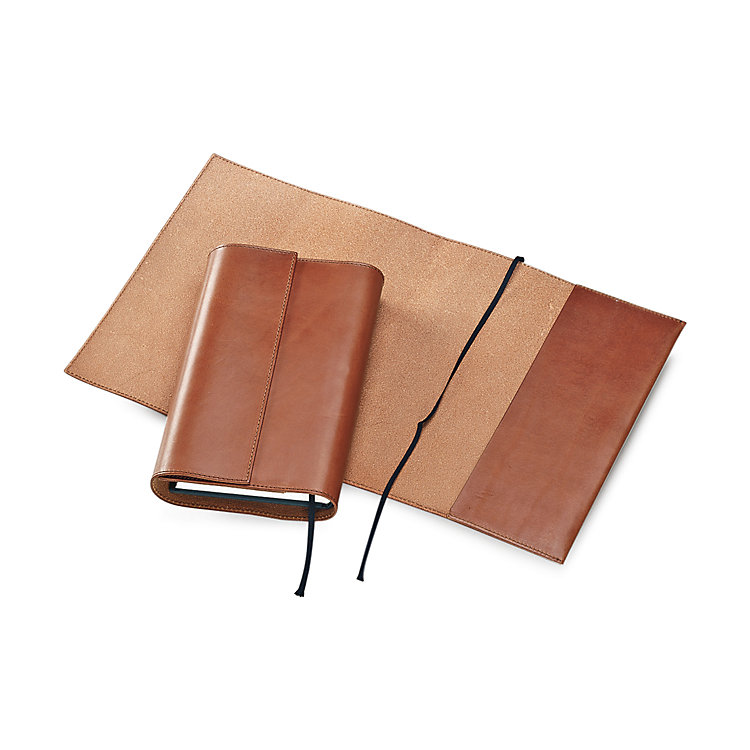 Calf Leather Book Jacket 22 x 42,5 cm