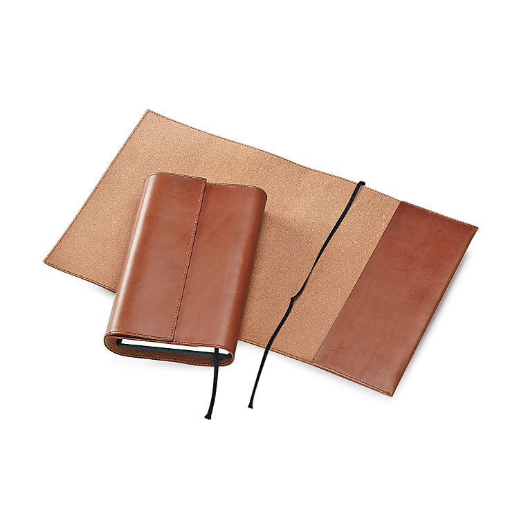 Calf Leather Book Jacket 25 cm x 43 cm