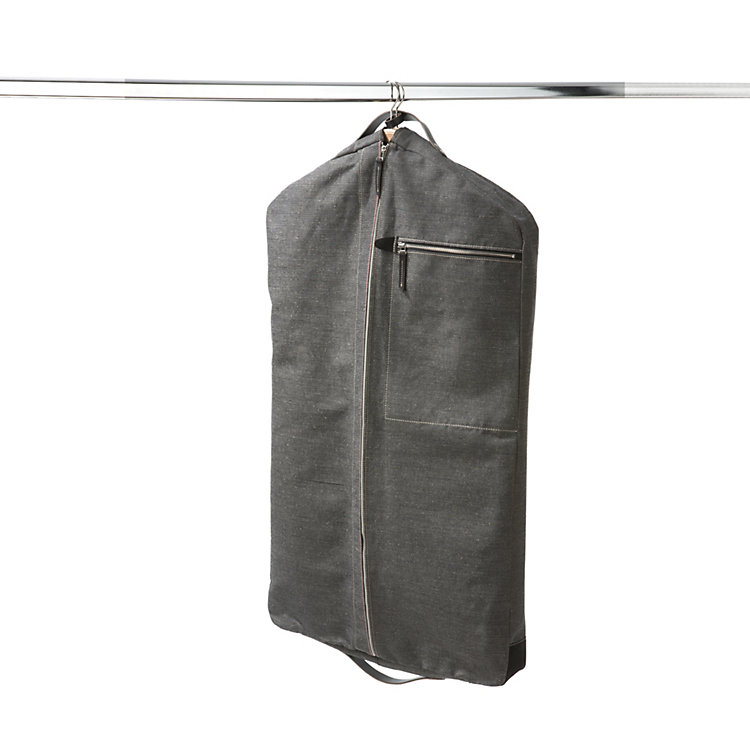 Canvas travel garment cover