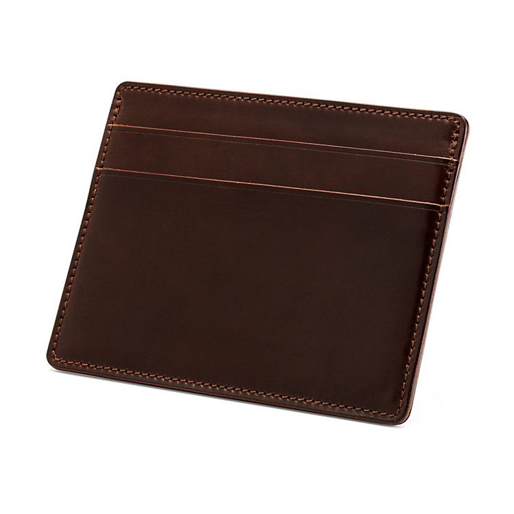 Card Case Cordovan, Brown