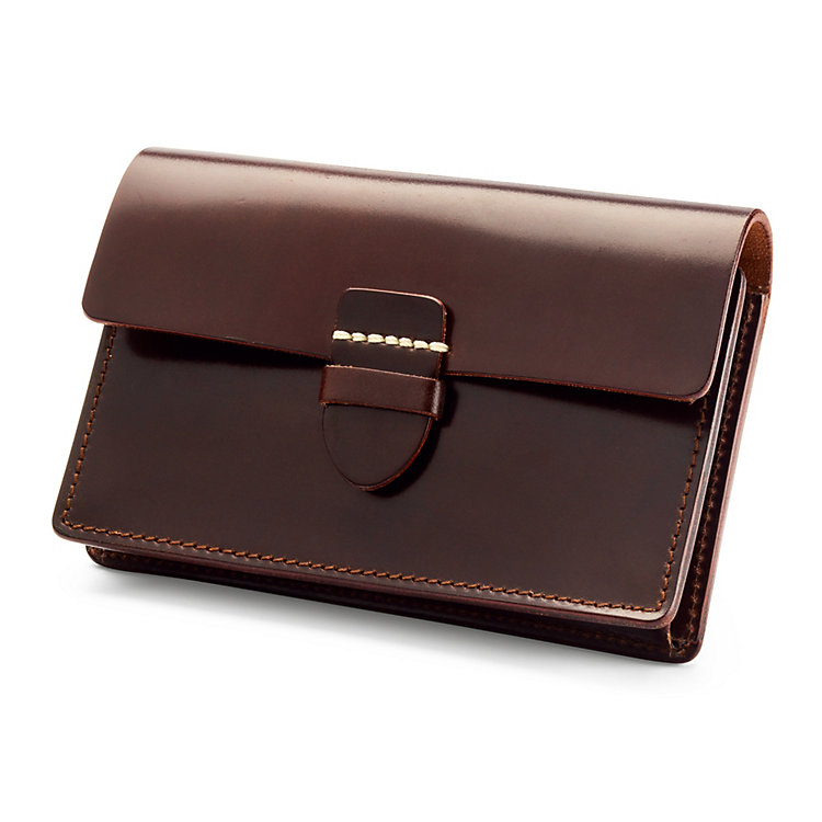 Card Purse Cordovan