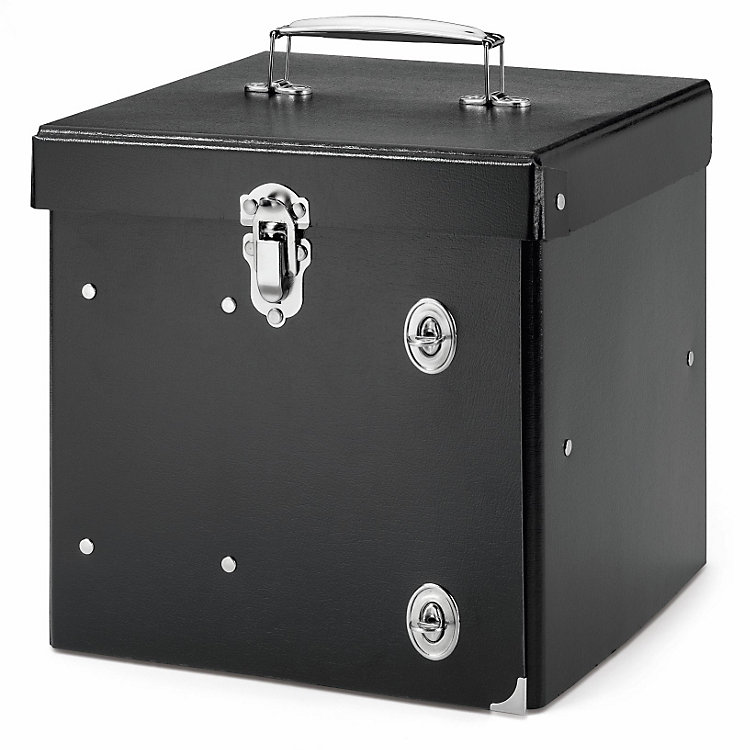 Cardboard Sundries Storage Box  Black