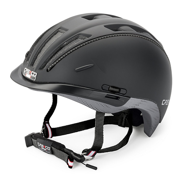Casco Roadster Bicycle Helmet, Black