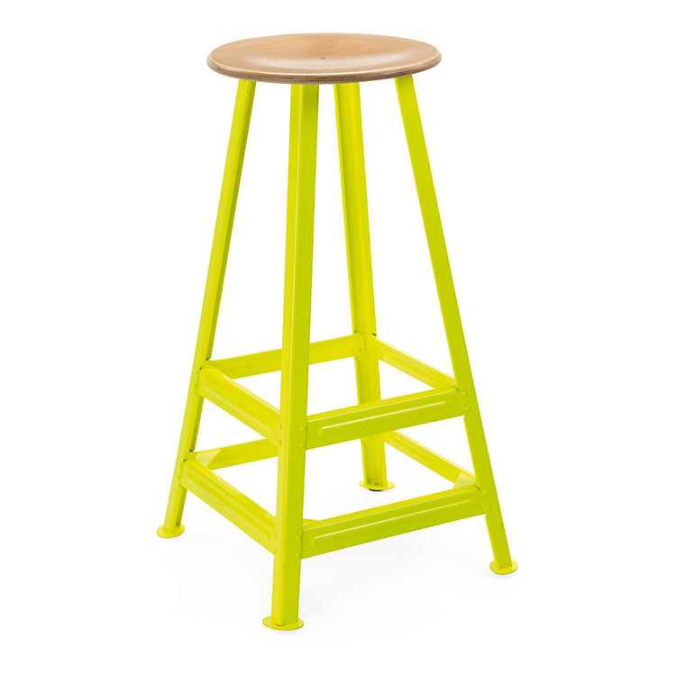 Chemnitz Bar Stool Bright Yellow