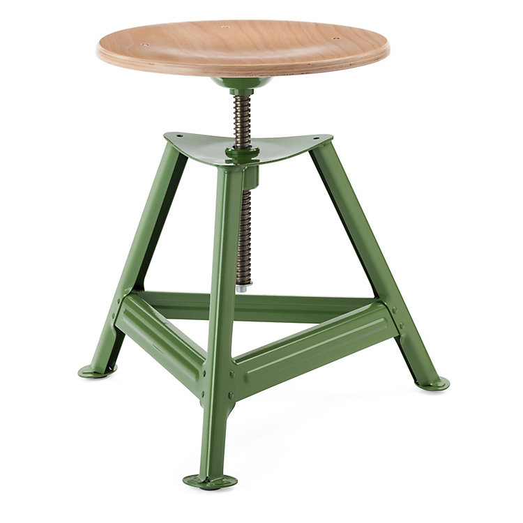 Chemnitz Stool Height-Adjustable Reseda Green