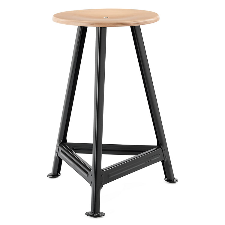 Chemnitz Stool, large Nightblack