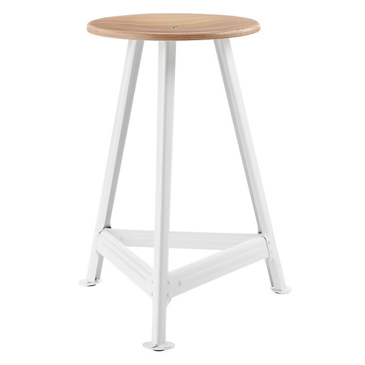 Chemnitz Stool Large Bright White
