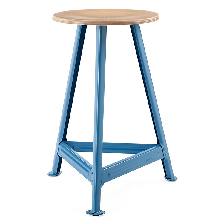 Chemnitz Stool, large Light Blue