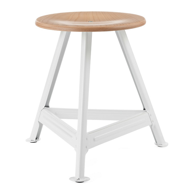 Chemnitz Stool Small Bright White