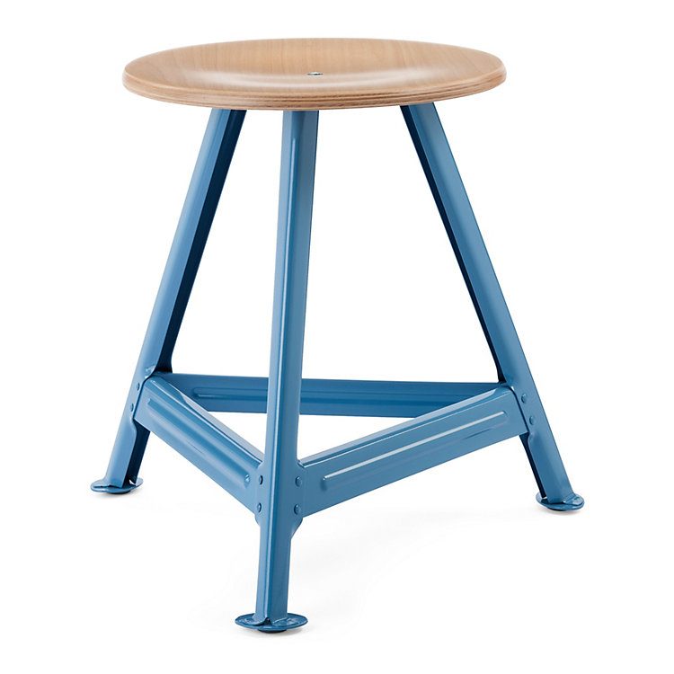 Chemnitz Stool, small Light Blue