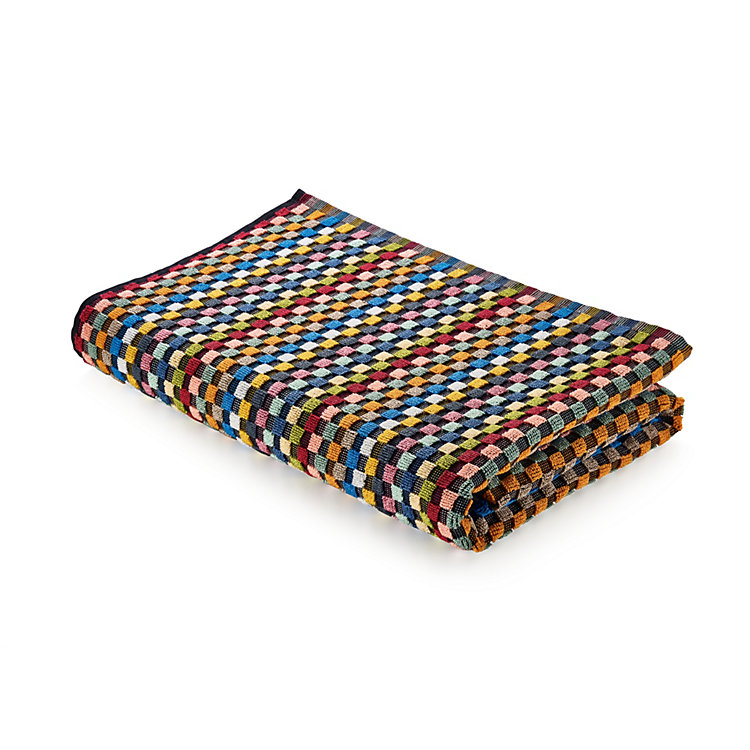 Chequered Terry Cloth Shower Towel Shower Towel