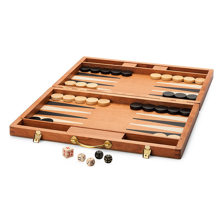 Cherry-wood Backgammon