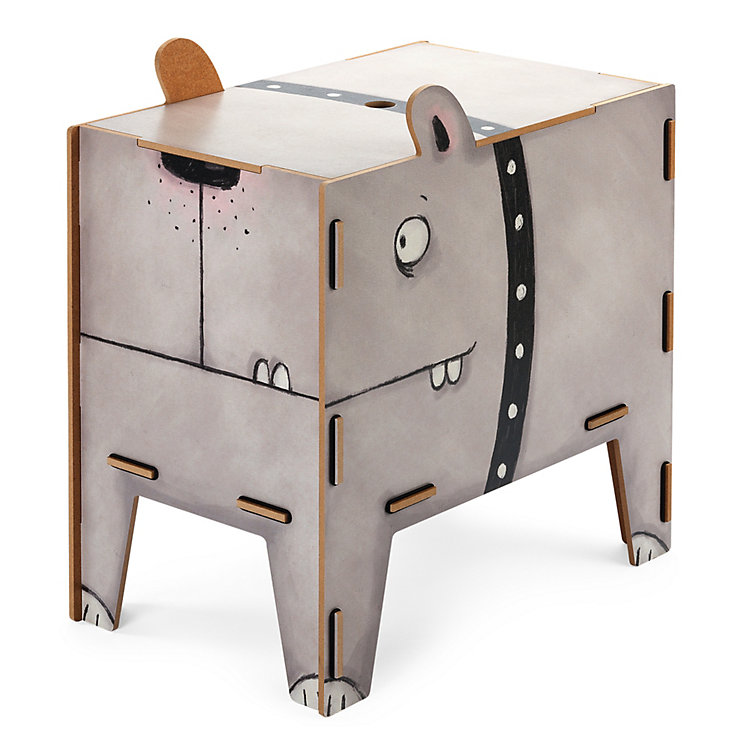 Chest and Stool Dog