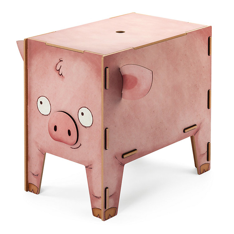 Chest and Stool, Pig