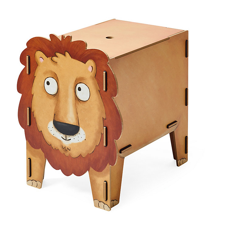 Chest and Stool, Lion