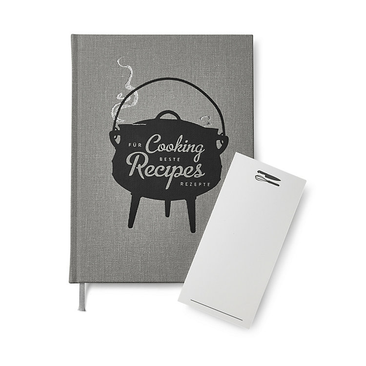 Cloth Recipe Book English Titel (bilingual)