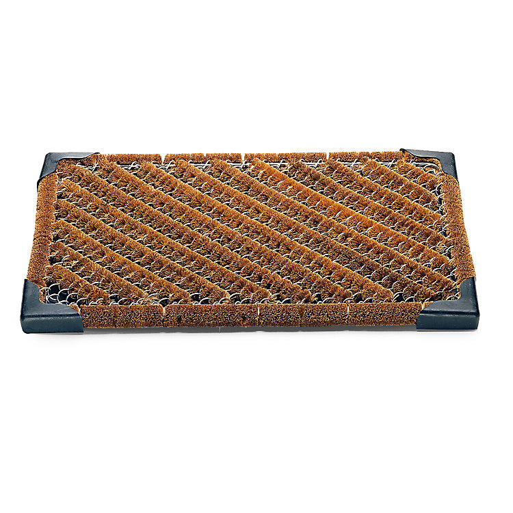 Coconut Fibre and Wire Mesh Doormat