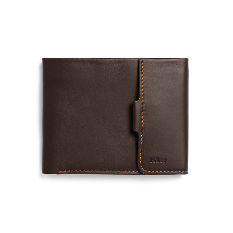 Coin Purse and Billfold Brown