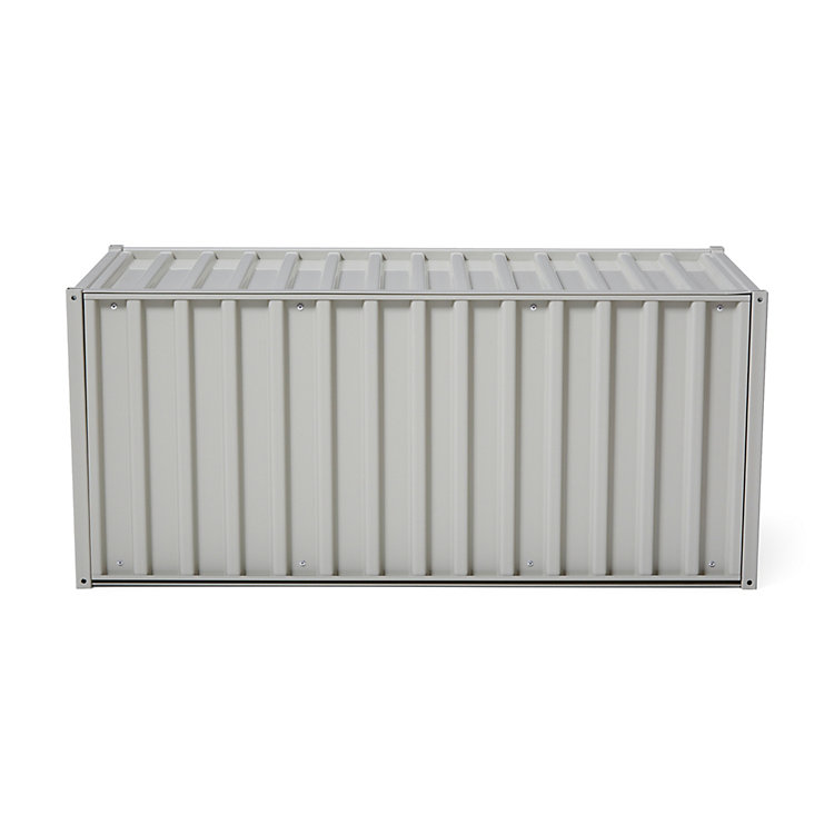 Container DS, Kieselgrau RAL 7032