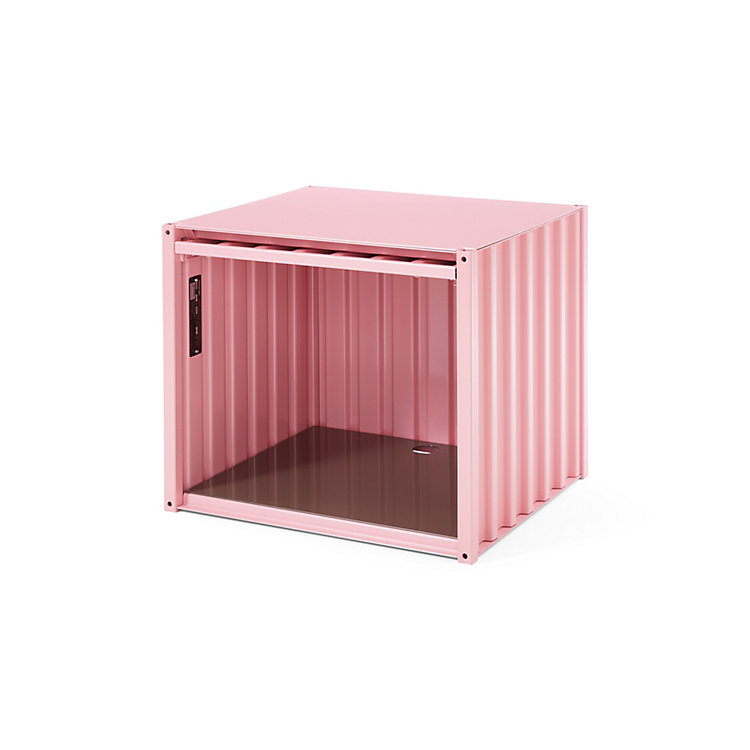 Container DS Klein, Hellrosa RAL 3015