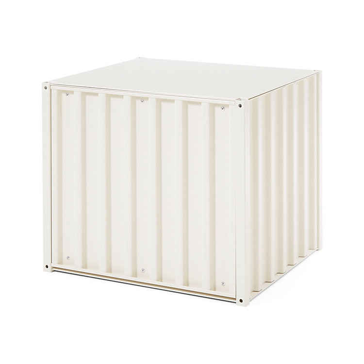 Container DS Small Pearl White RAL 1013