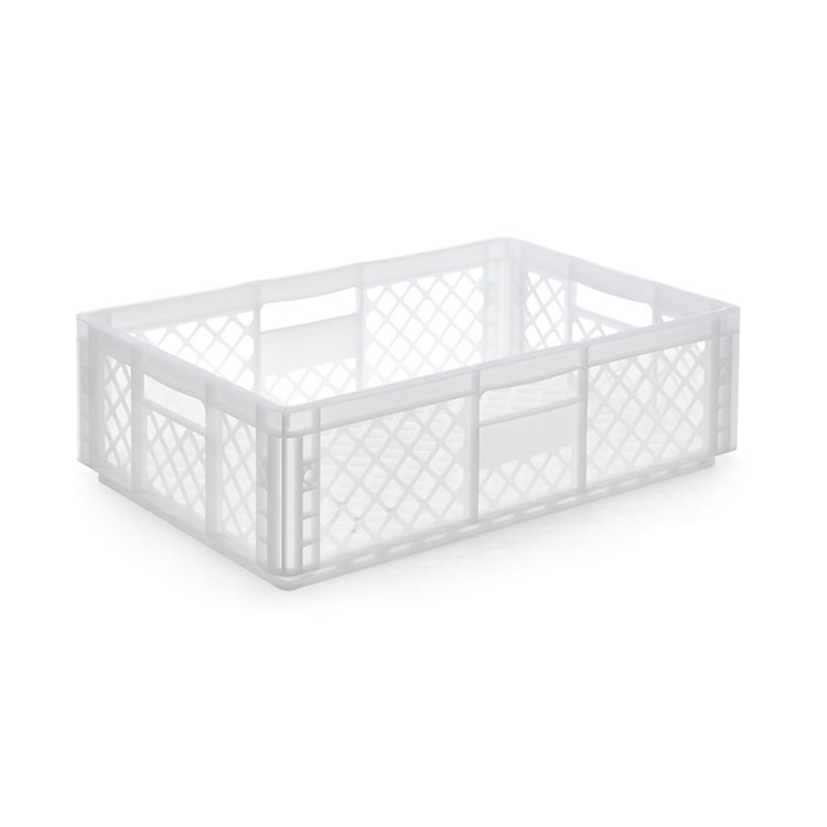 Container STOWAGE CRATE Medium Traffic White RAL 9016