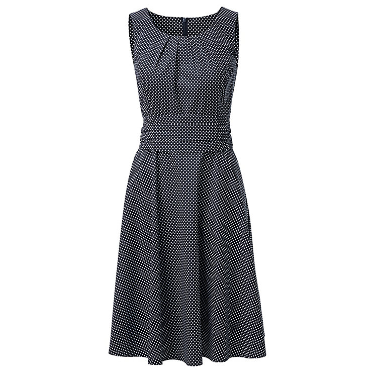 Cotton Dress with Polka Dots