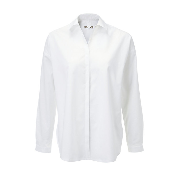 Cotton Shirt Blouse White