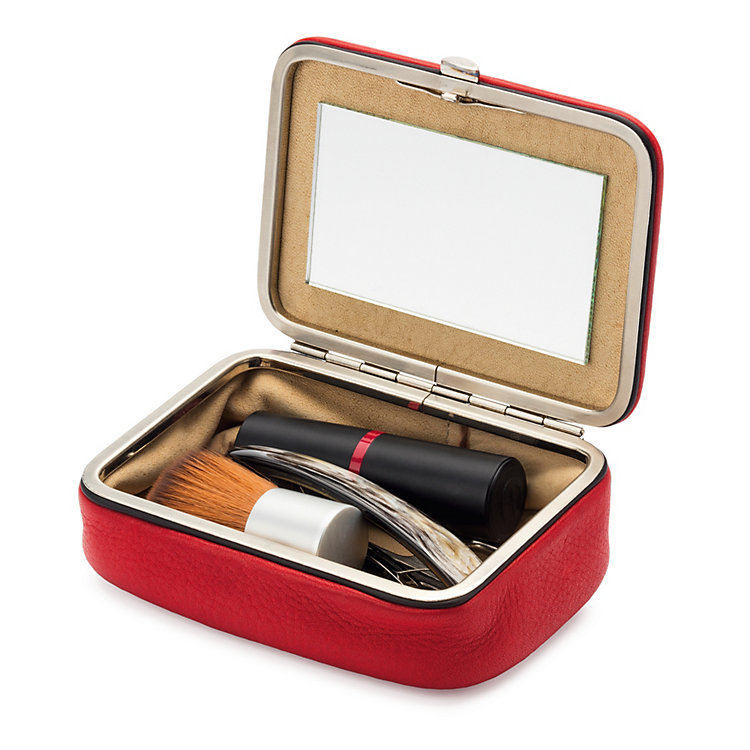 Cowhide Accessories Case Red