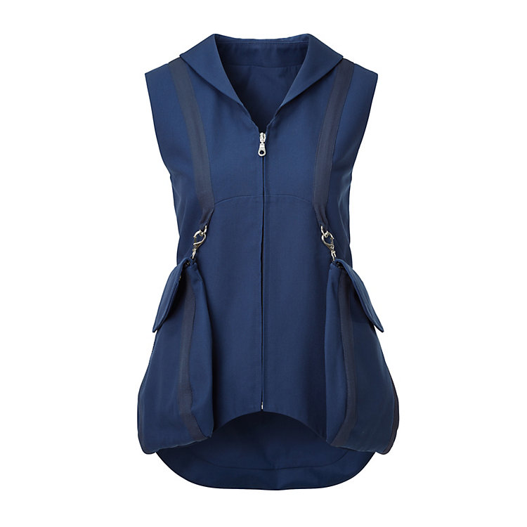 Cradle to Cradle® Women's Vest Navy Blue