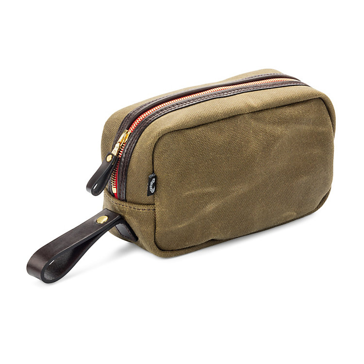 Croots Washbag Oliv